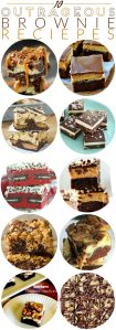 10 Outrageous Brownie Recipes roundup