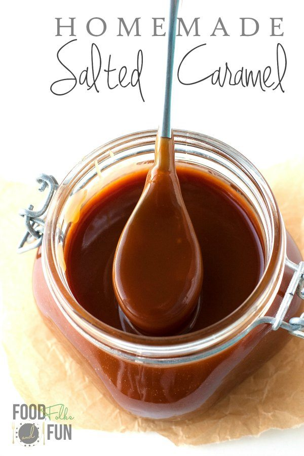 This homemade Salted Caramel recipe is so simple to make with these easy-to-follow instructions. With this caramel sauce recipe you'll be in salted caramel bliss in no time!