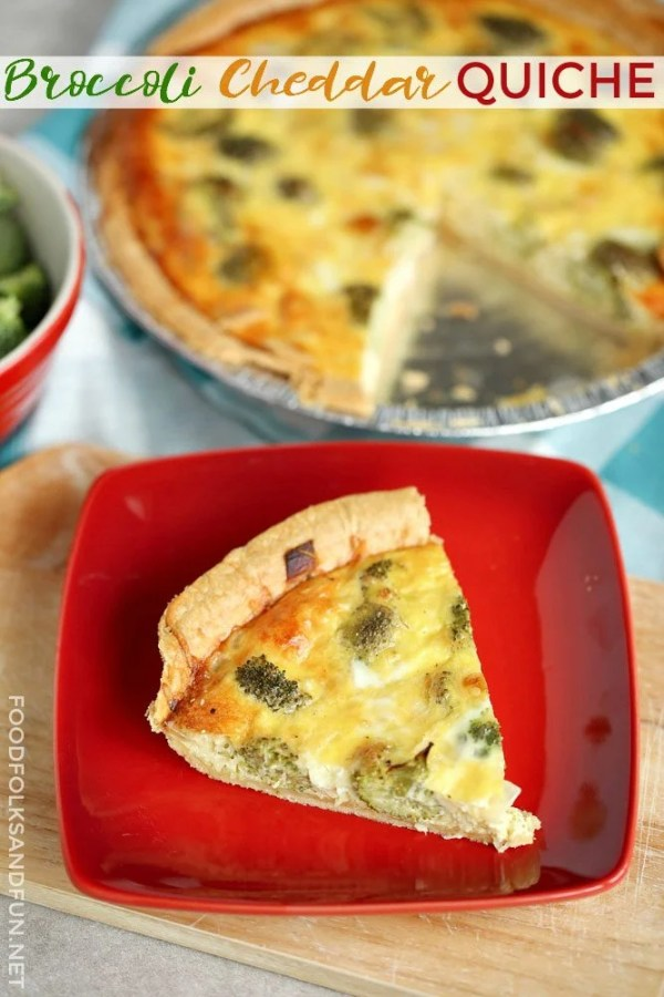 How to make an easy Broccoli Cheddar Quiche