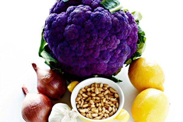 Roasted Cauliflower with Rigatoni ingredients