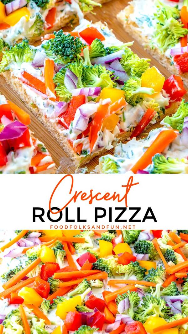 Easy Crescent Roll Appetizer recipe.