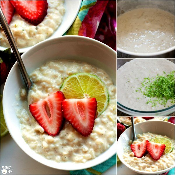 This recipe for Zesty Lime Rice Pudding is everything you love about classic rice pudding but all dressed up for spring!