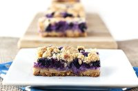 This Creamy Blueberry Crumb Bars recipe is just the thing for using up fresh, in-season blueberries! They're utterly delicious and simple to make!