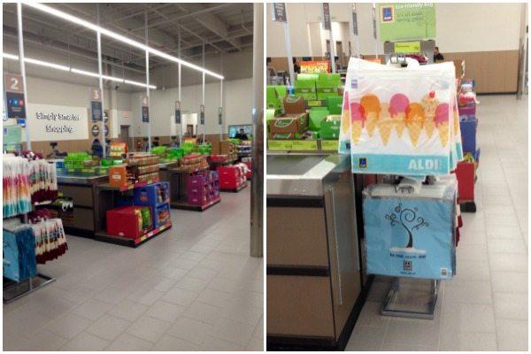 Checkout Area at ALDI