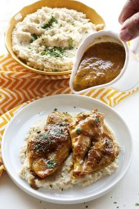 Saucy, tangy, succulent Honey Mustard Chicken is a tasty weeknight meal that everyone will not just love, but DEVOUR! Give yourself 18 minutes and dinner is served with this quick and easy dinner recipe!