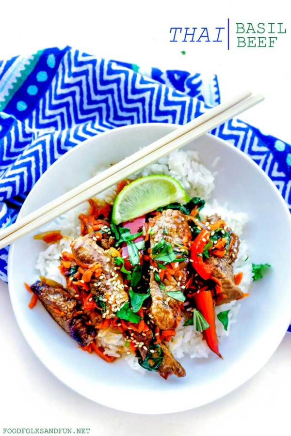 Thai Basil Beef recipe
