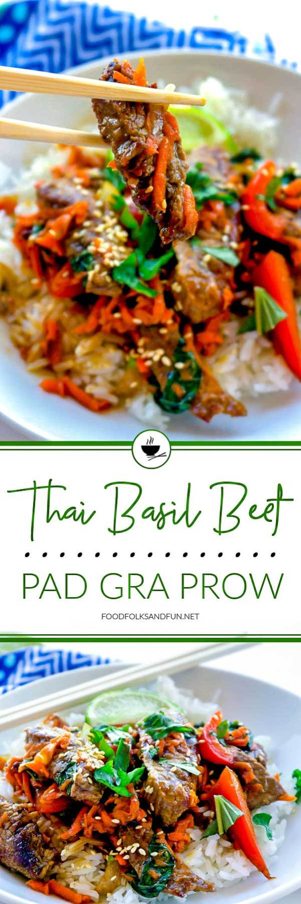 Thai Basil Beef - Pad Gra Prow
