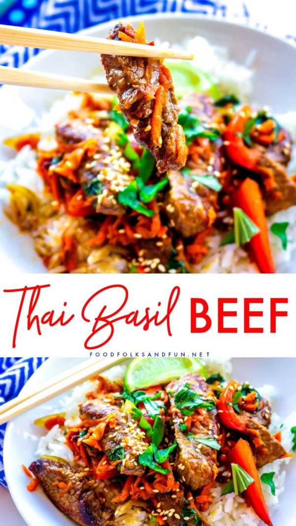 Easy Thai Basil Beef recipe