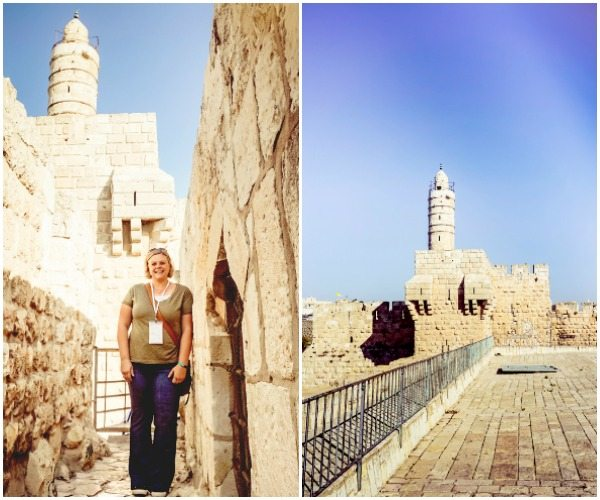 A collage of places to visit in Jerusalem