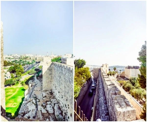 The best places to visit in Jerusalem collage