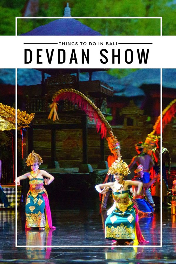 A picture with text overlay showing The Devdan Show is the treasure of the Archipelago.