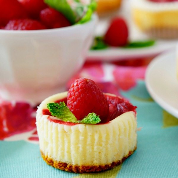 These Raspberry Swirl Cheesecake Cupcakes will become an instant favorite. They're pretty to look at, absolutely delicious, and they're super easy to make. PLUS each cupcake has only 190 CALORIES!