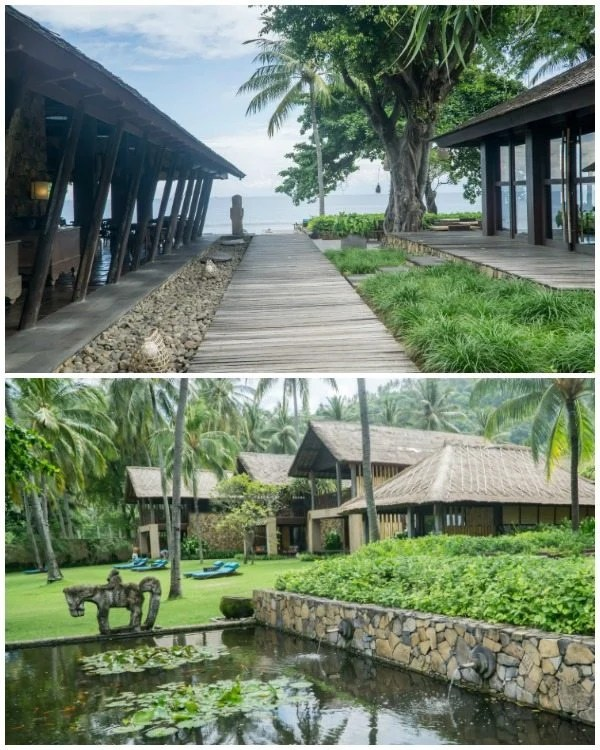 Jeeva Klui Resort Grounds - Lombok, Indonesia