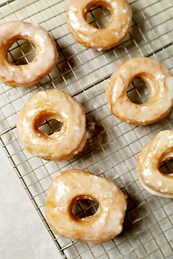 Quick and Easy Puff Pastry Cronuts with Buttermilk Icing