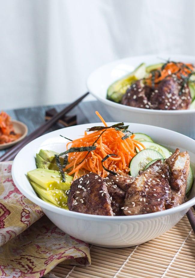 Sushi Rice Bowls