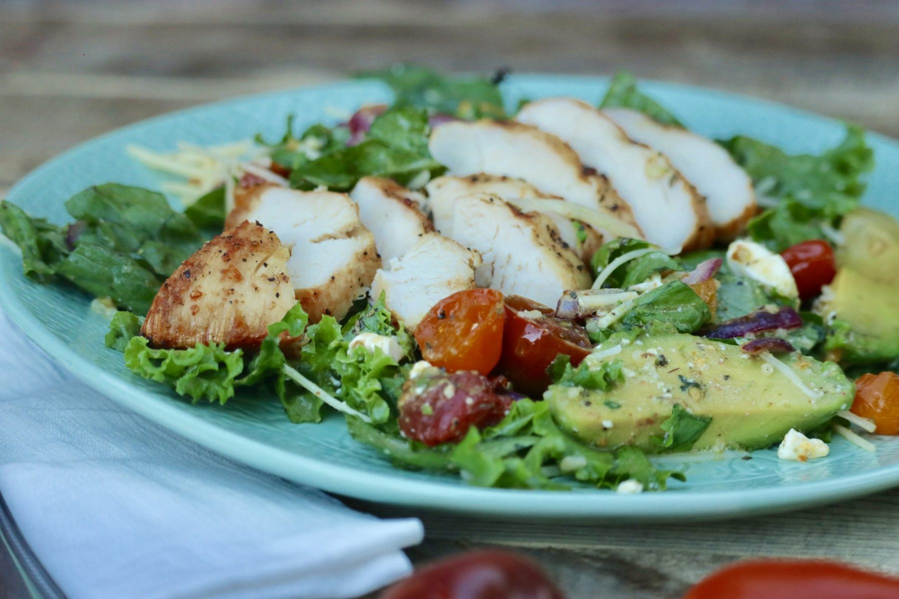 Chicken Salad on a plate