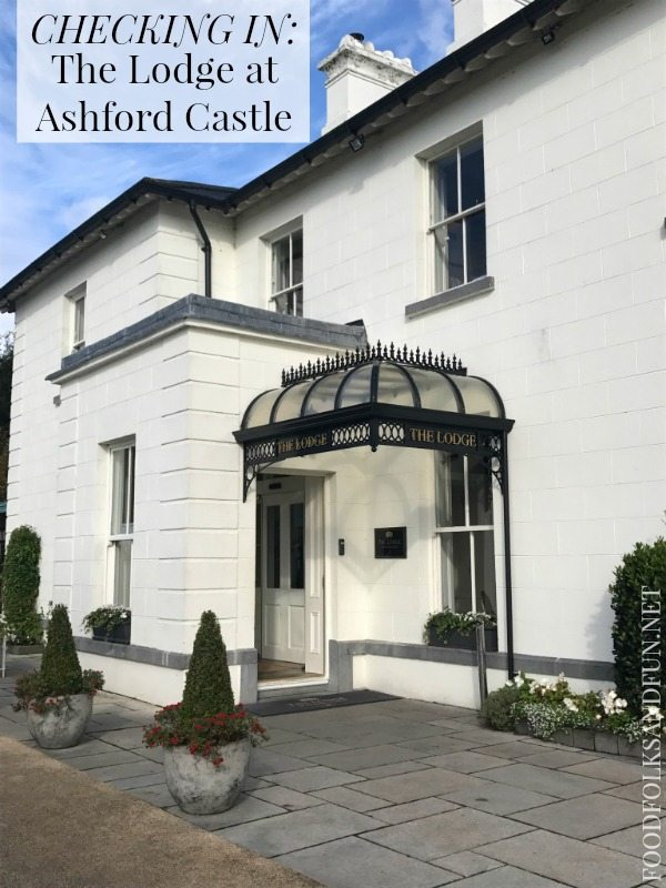 Checking In - The Lodge at Ashford Castle