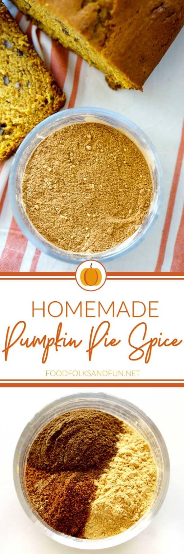 Easy pumpkin pie spice