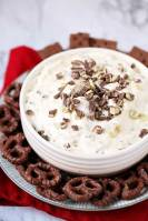 Easy Andes Mint Cheesecake Dip