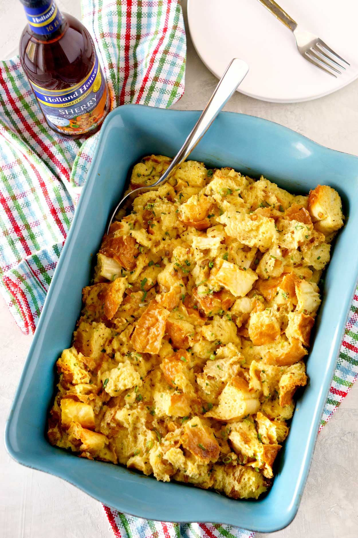 Easy Savory Bread Pudding