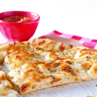 Homemade Garlic Cheese Breadsticks recipe.