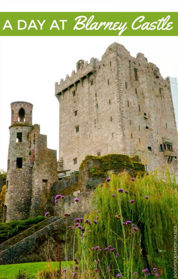 Visiting Blarney Castle.
