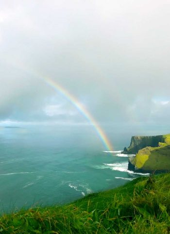 Rainbow over The Cliffs of Moher