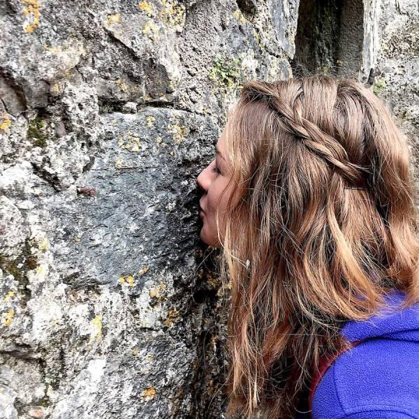 I'm not kissing the Blarney Stone!