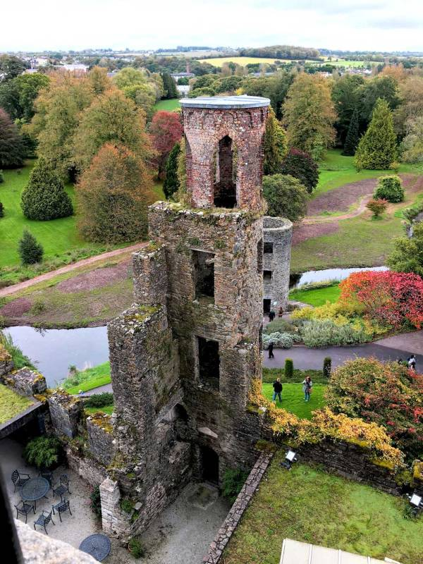 Blarney Castle during the Fall.