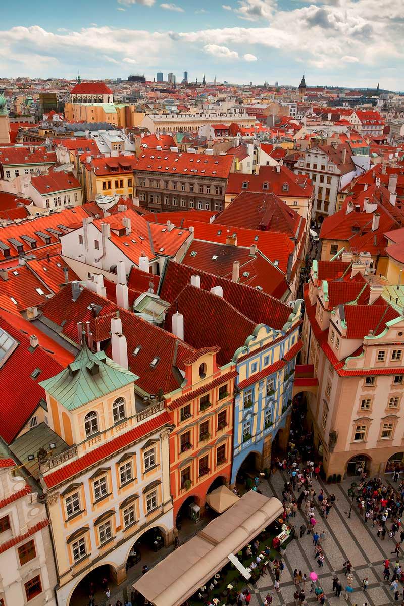 Old Town Prague part of Prague 1