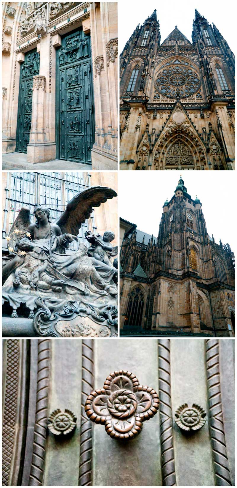 St. Vitus Cathedral part of the Castle Complex in Prague