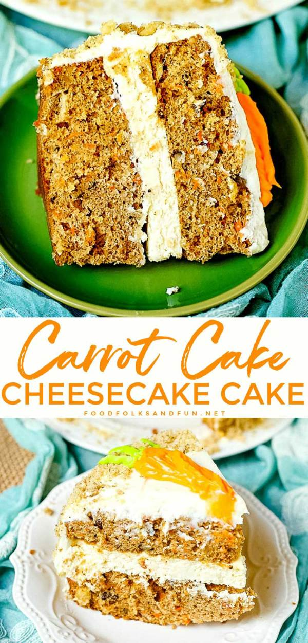 Copycat Cheesecake Factory Carrot Cake