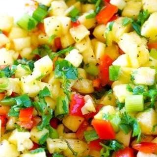 Delicious Pineapple Salsa recipe