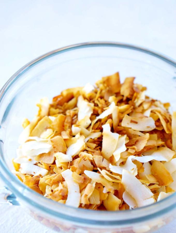Toasted Coconut - 2 ways