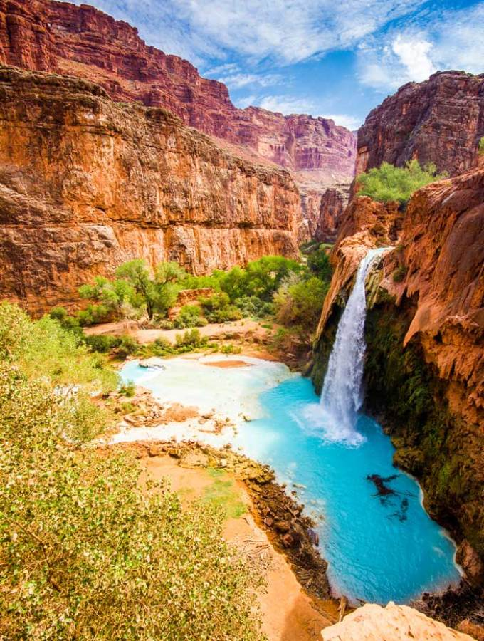 Gorgeous Havasupai Falls Arizona