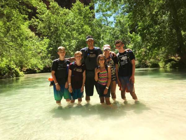 Tips for Hiking Havasupai Falls with your family.
