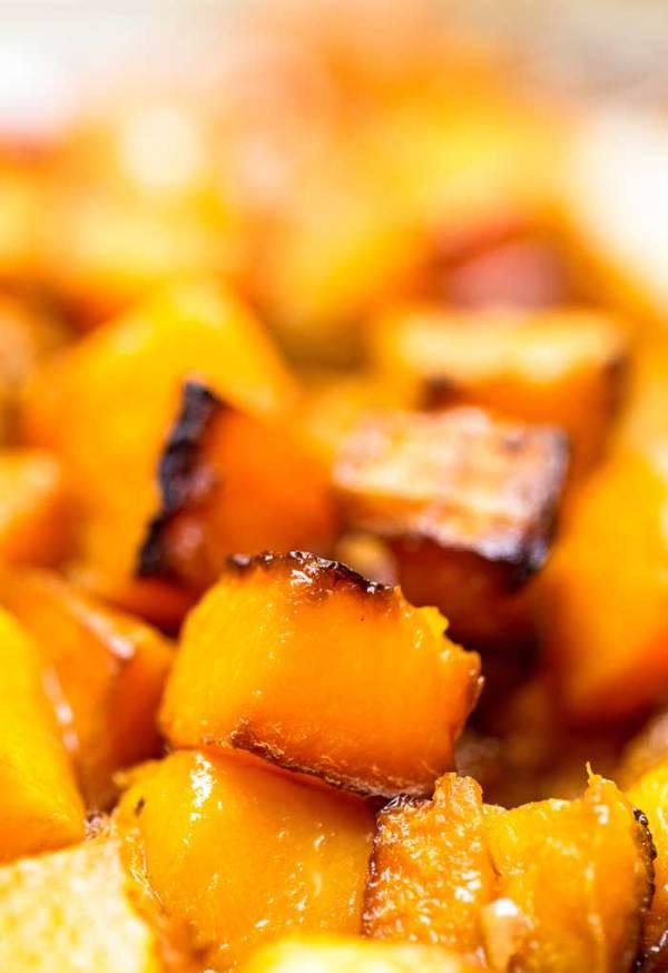 Roasted Butternut Squash Cubes recipe