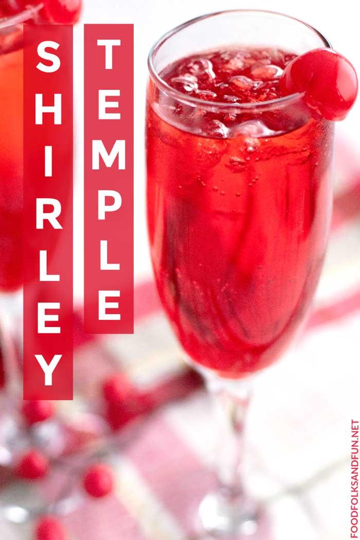 Shirley Temple Recipe