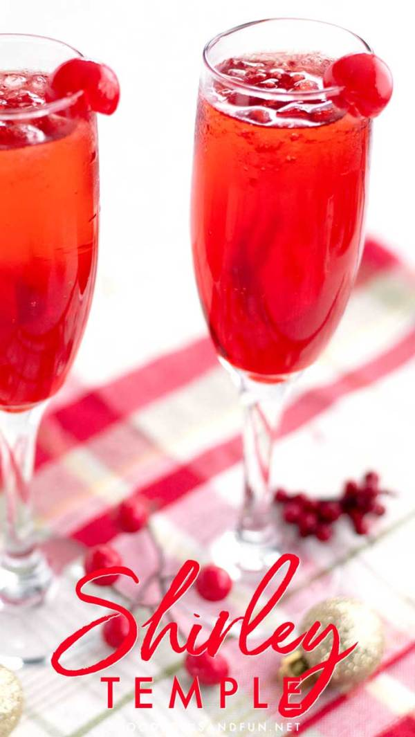 One Minute Shirley Temple Recipe