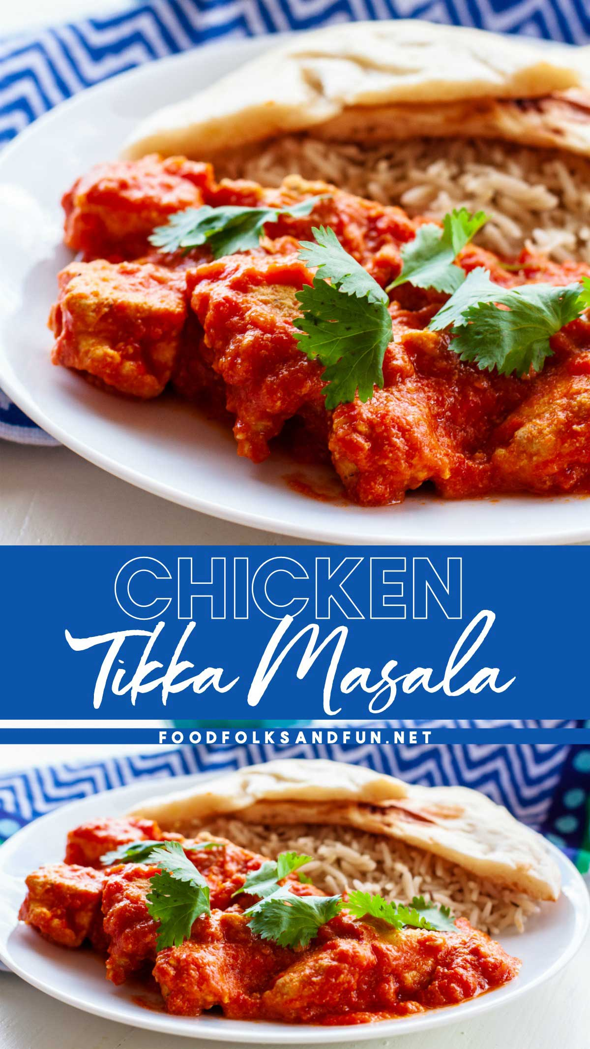 This Slow Cooker Chicken Tikka Masala recipe boasts tender pieces of chicken in a spiced creamy tomato curry. It tastes as if it came from your favorite Indian restaurant.  via @foodfolksandfun