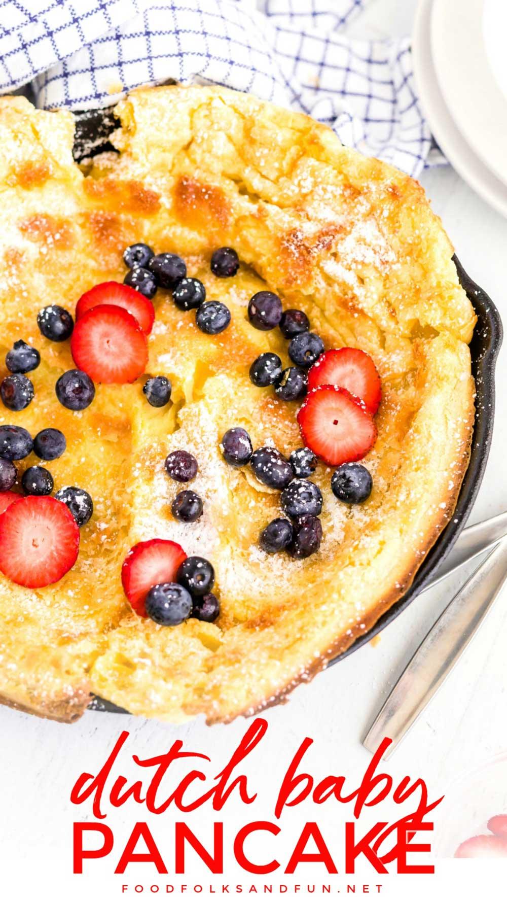 Best Dutch Baby Pancake
