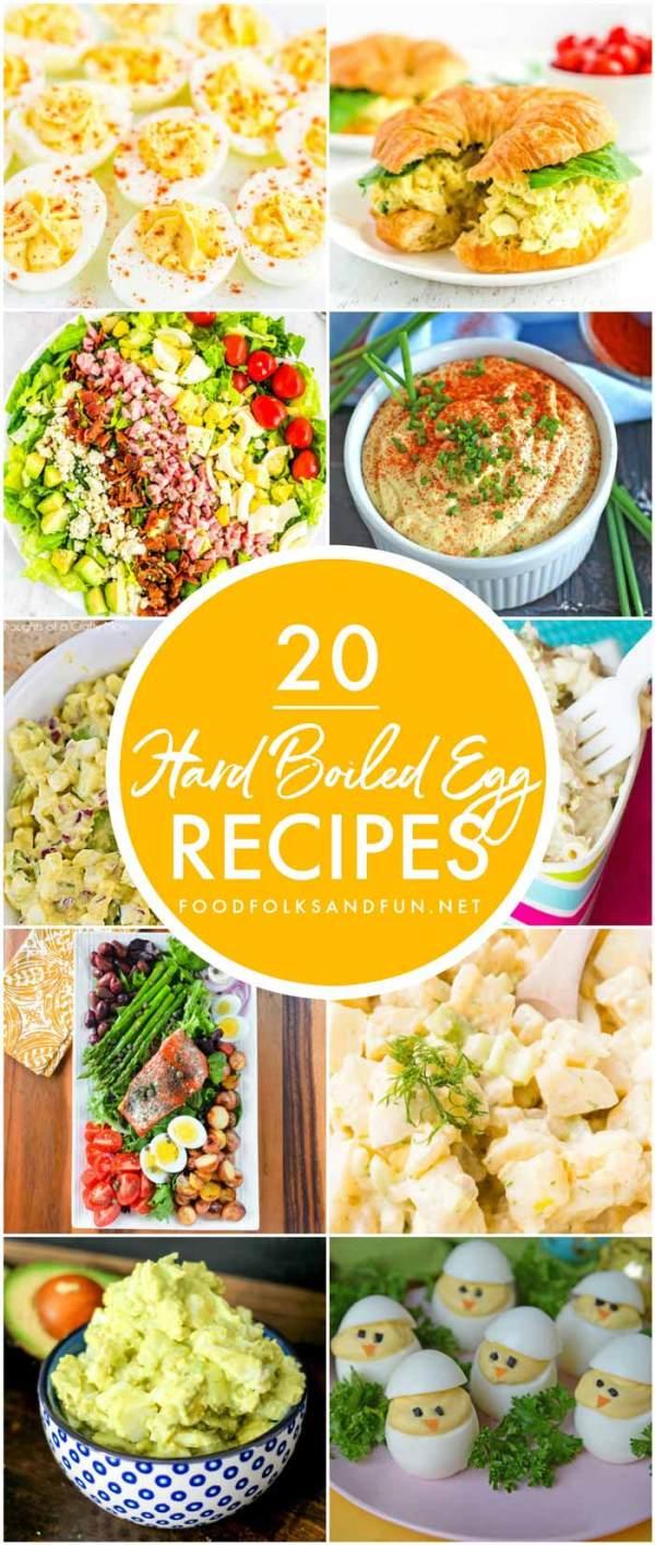 Hard Boiled Eggs Recipes