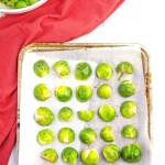 Roasted Brussels Sprouts Step 2
