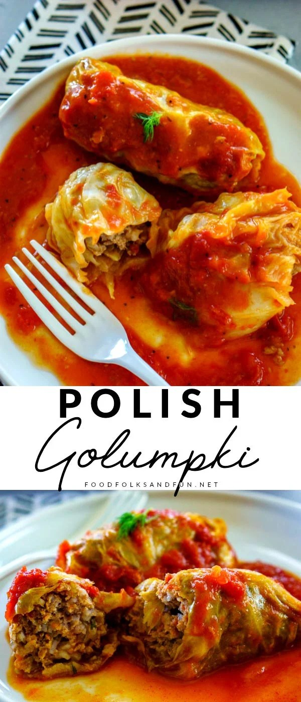 Golumpki or Gołąbki are Polish cabbage rolls that are stuffed with a mixture of beef, pork, rice, and seasoning. This recipe serves 12 and costs just $11.32 to make or $0.95 per serving!