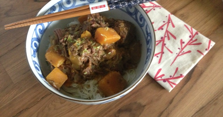 Curry Beef & Butternut Squash