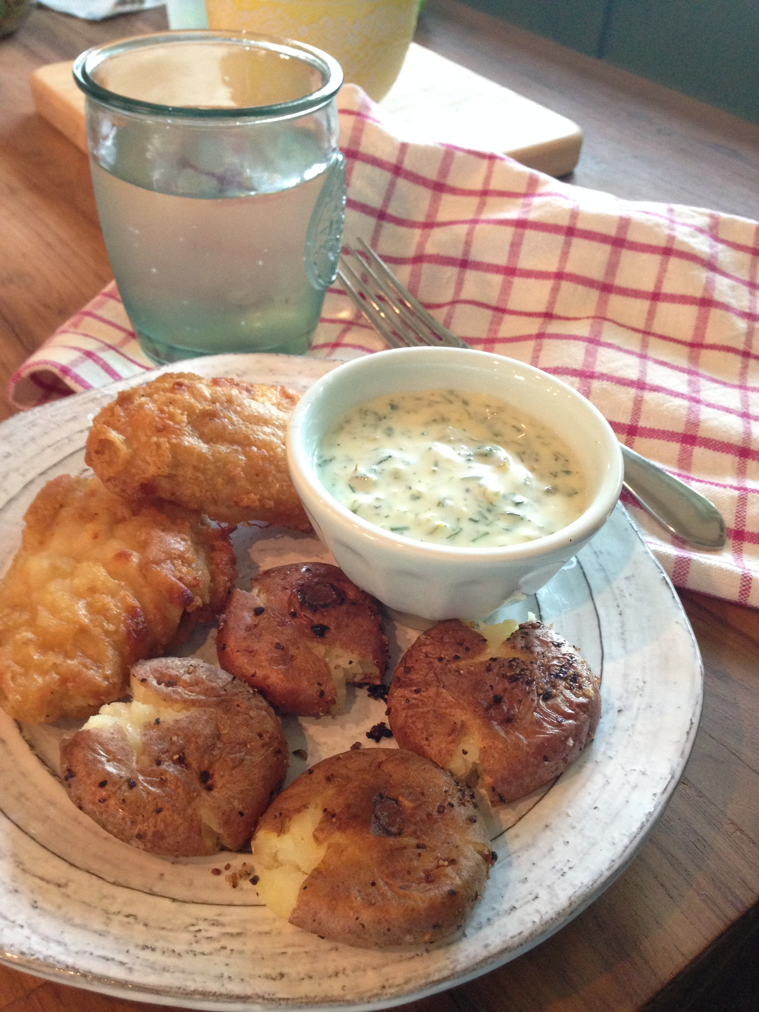 Tartar Sauce made lite!! ((and a fishing story))