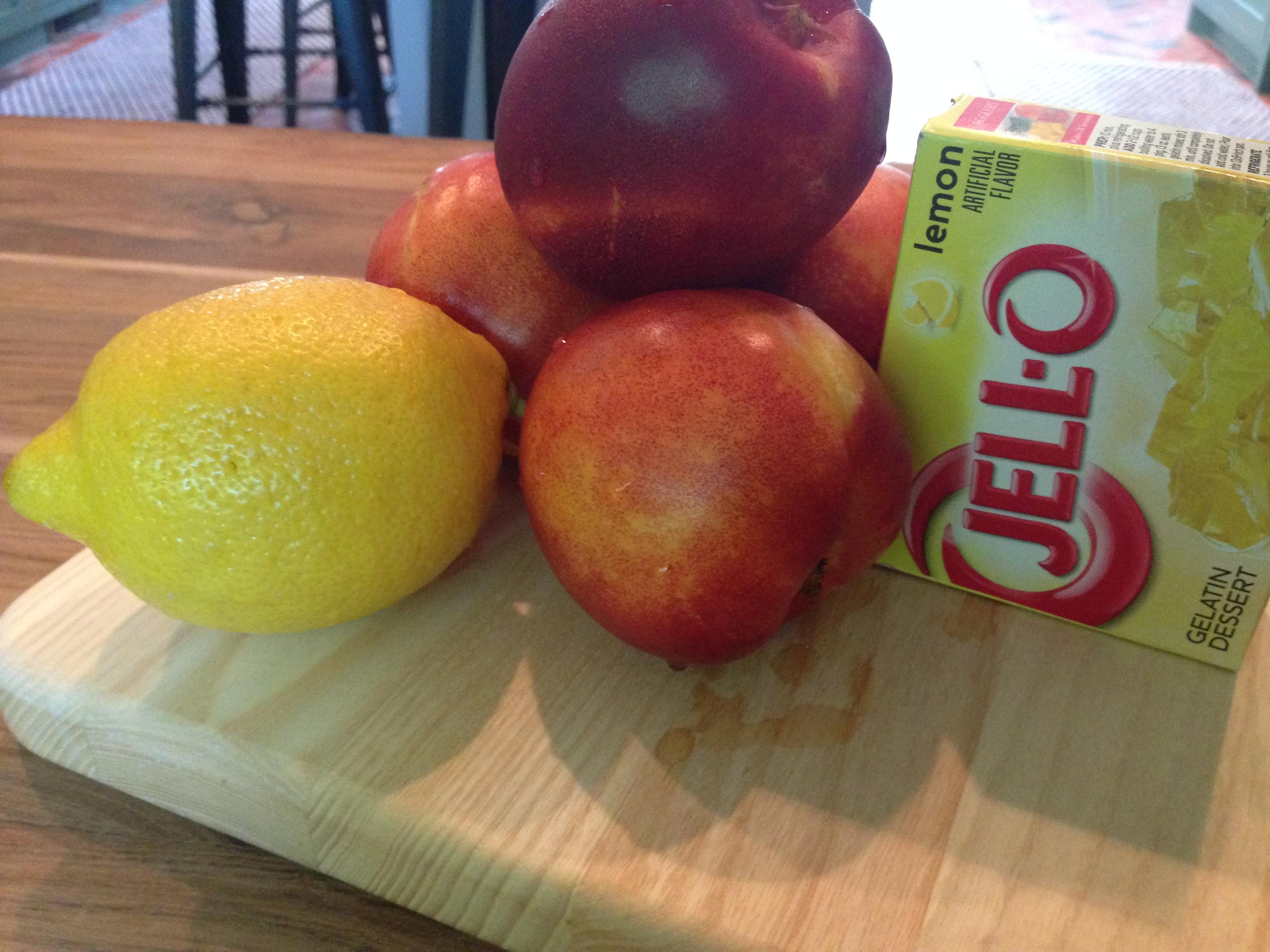 Nectarines + Lemon = Sunshine Salad