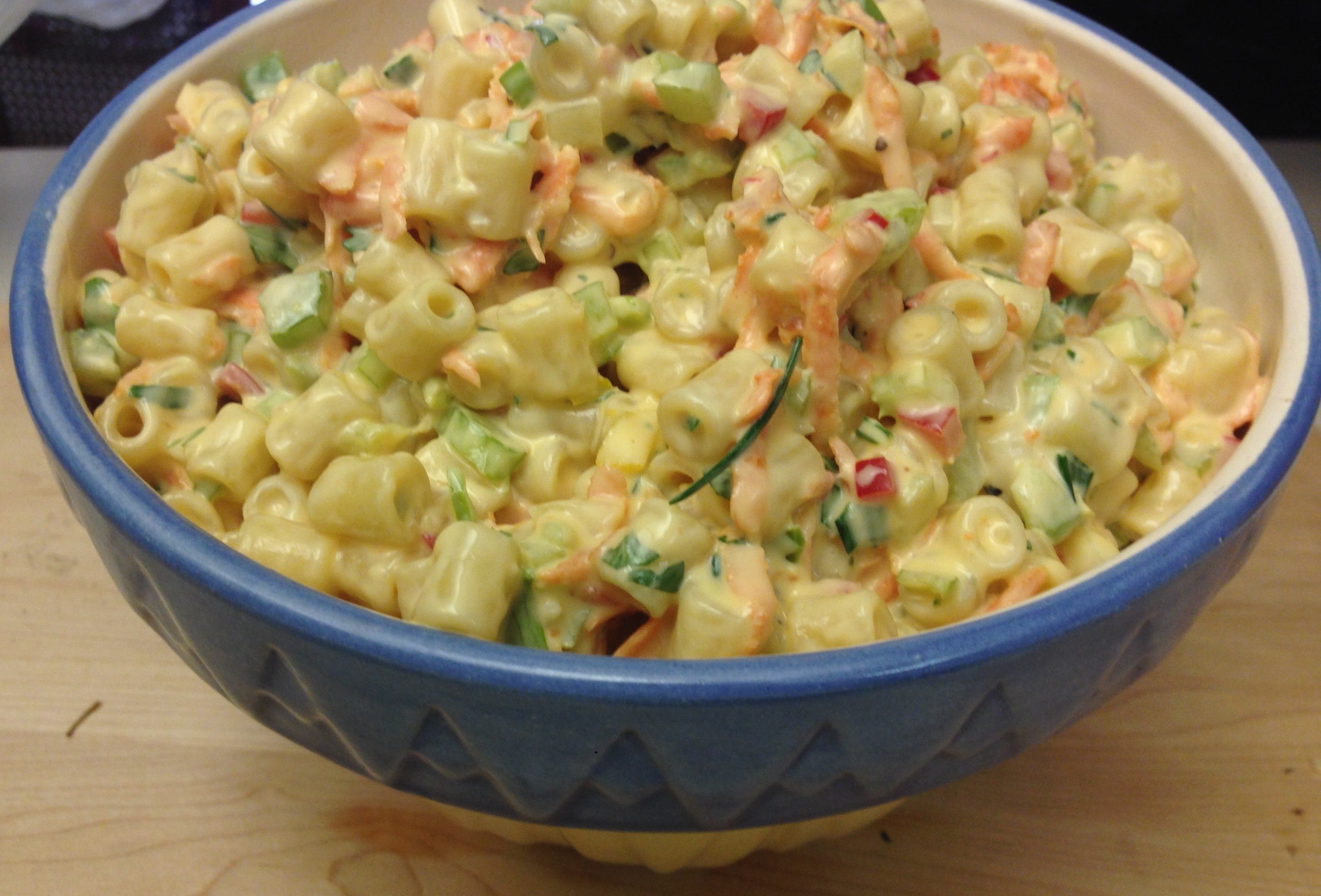 Dad's Favorite Macaroni Salad ((Just in time for Father's Day!!))