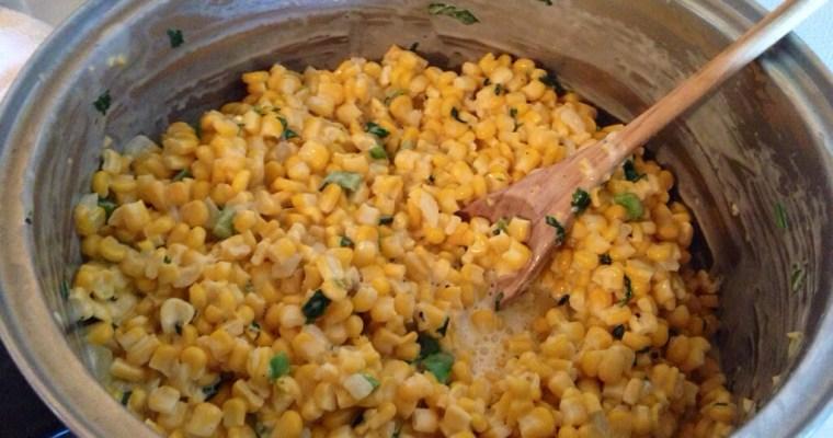 Mexican-Style Cream Corn