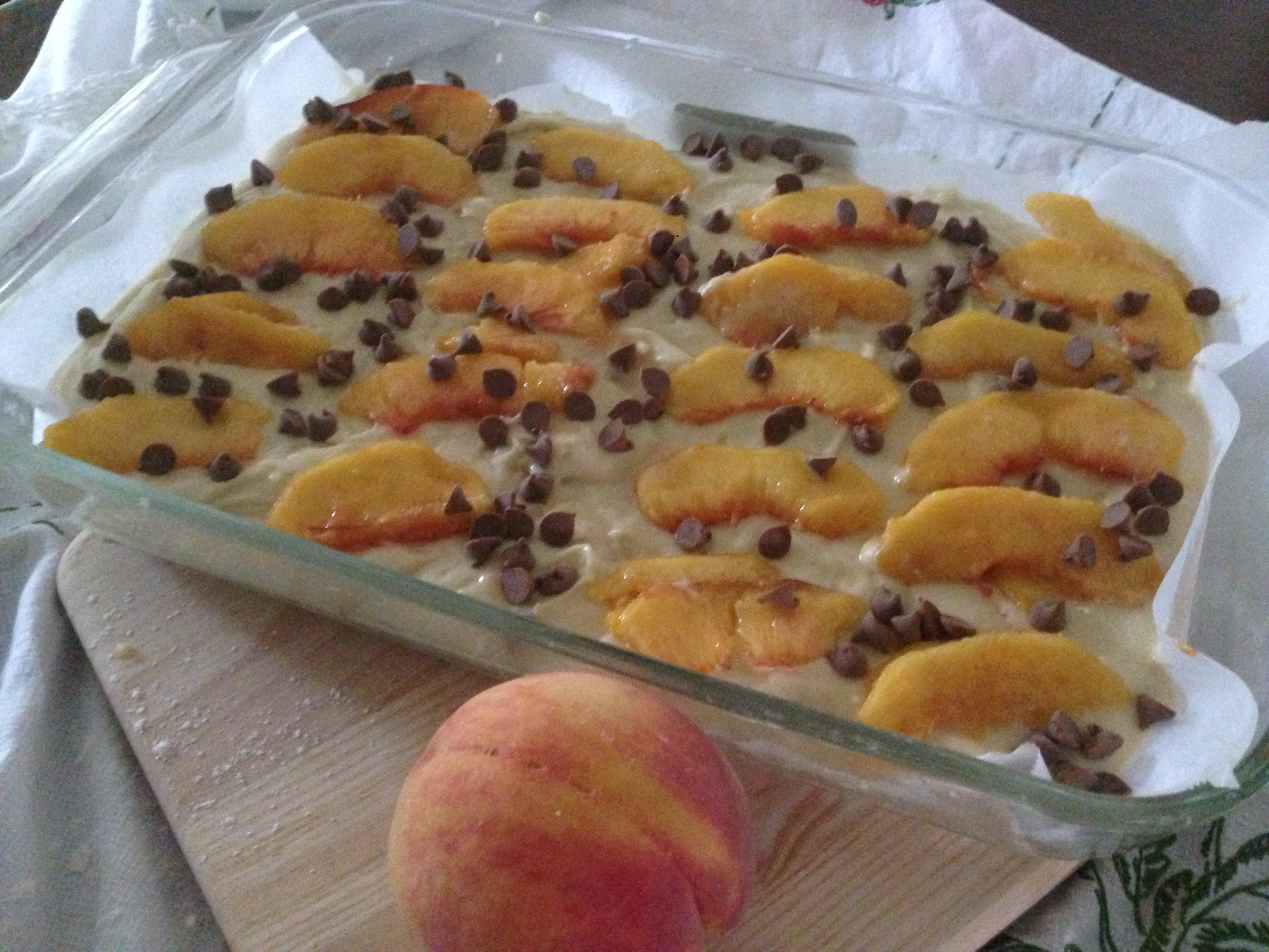 Peach Cobbler Cake – This will change you life.